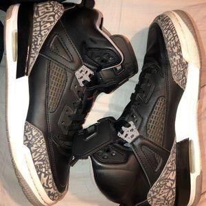Nike Air Jordan Retro Spizike Black Cement Grey
